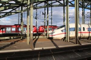 Met de trein naar Keulen
