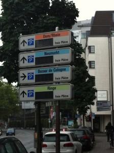 AOK-V-parkeren