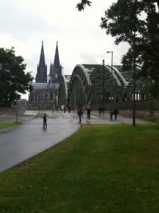 Hohenzollernbrucke Keulen