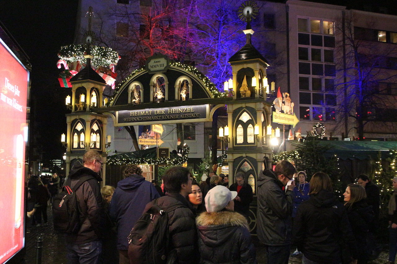 Kerstmarkten Keulen 2018